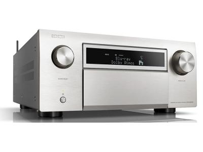 Denon AVR-X8500H Powerful 13.2 Channel 4K Home Theater AV Receiver - Silver