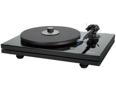 Music Hall MMF-5.3 2 Speed Belt Drive Turntable (Black)