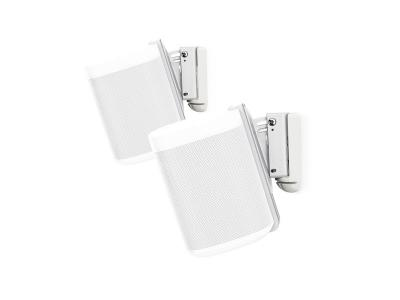Flexson Wall Mount for Sonos One - White (Pair)