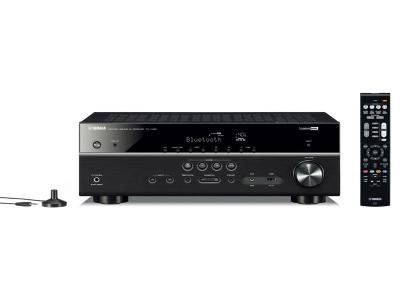 Yamaha RX-V385 5.1 Channel 4k Ultra HD AV Receiver with Bluetooth