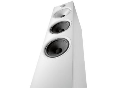 Bowers & Wilkins 603 Floorstanding Speaker, 600 Series (White)