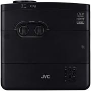 JVC 4K UHD HDR DLP Projector – Black LX-UH1-W