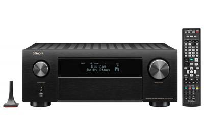 Denon AVR-X4500H 9 2 Channel 4K AV Receiver with 3D Audio and Alexa Voice  Control