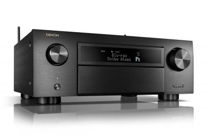 Denon AVR-X6500H 11.2 Channel 4K AV Receiver with 3D Audio and Alexa Voice Control