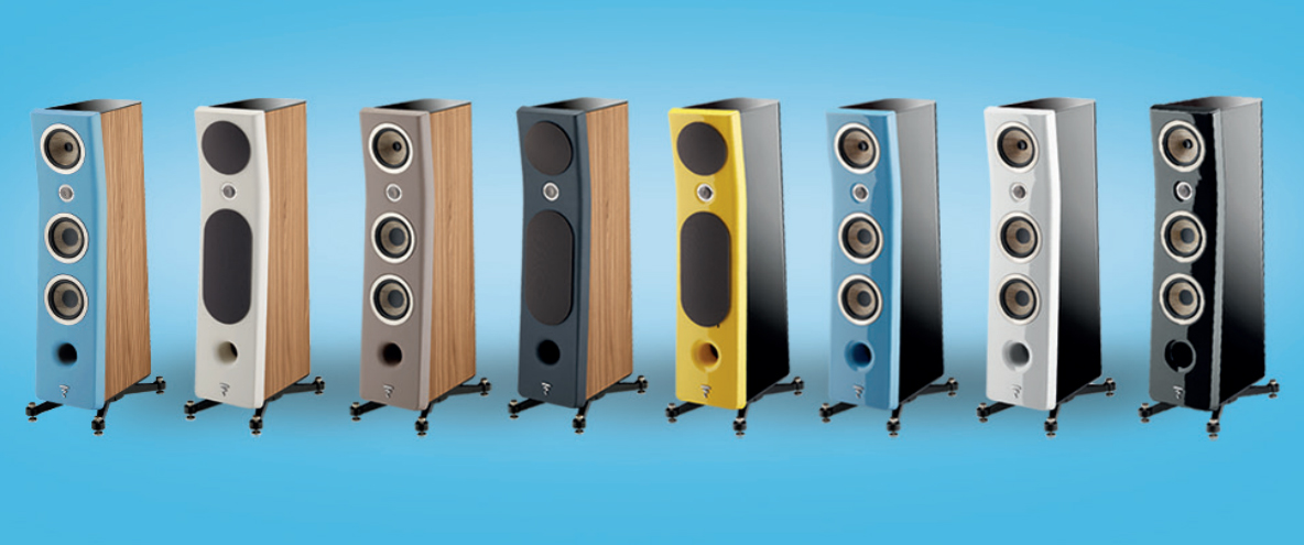 Focal KANTA No2 Floorstanding 3-way Bass Relfex Speaker - Gloss Carrara  White